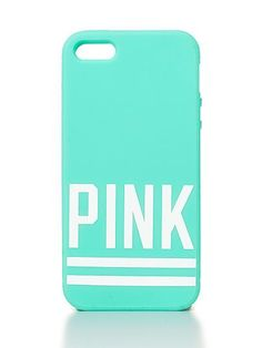 VS PINK Soft iPhone®️ 4/4S/5 Case in Teal