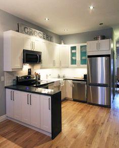 DIY Concrete Countertops - Storefront Life www.storefrontlife.com #diy #concrete #kitchen