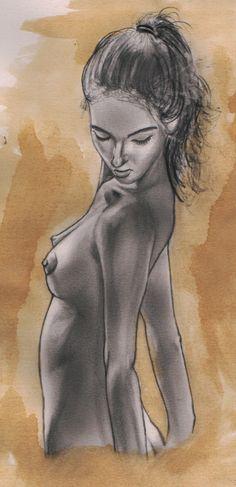 Emanuel Gavioli: Nudo femminile
