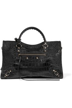 Balenciaga - Classic City croc-effect leather tote fe191e990a9f9