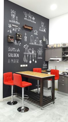 √ 35 Best Small Kitchen Table: Pictures, Ideas & Designs - T.- √ 35 Best Small Kitchen Table: Pictures, Ideas & Designs – Trumtin We have listed a few of the top ideas for adding small kitchen table to your space. Kitchen Interior, New Kitchen, Kitchen Decor, Slate Kitchen, Kitchen Modern, Kitchen Ideas, Kitchen Inspiration, Kitchen Designs, Room Interior