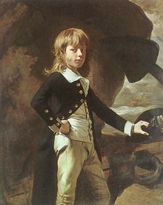 Midshipman Augustus Brine - John Singleton Copley, Painter    I can never get over the fact that midshipmen were so young.  He looks ready to take on the world.
