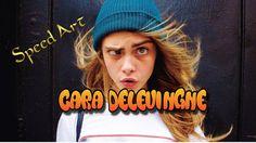 Cara Delevingne Speed Drawing  #caradelevingne #model #actress #speeddrawing #girl