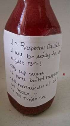 Anne of Green Gables Raspberry Cordial by Cara Nicoletti: http://yummy-books.com/2010/09/21/anne-of-green-gables-raspberry-cordial/