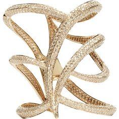 Maiyet Champagne Diamond Owl Cuff       $55,000.00