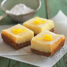 Creamy Lemon Squares Allrecipes.com