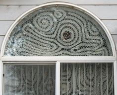 Chaos curtains - Bruges crochet with beads