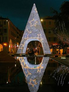 Christmas in Nice, France.