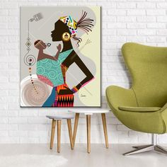 Mother and Child Art, Black Woman Poster Mums Birthday Gift Mum Birthday Gift, Mother Birthday, Cat Clipart, African Paintings, Women Poster, Dachshund Gifts, Office Prints, Framed Prints, Canvas Prints