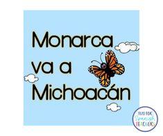 Spanish Classroom Decor, Classroom Ideas, Monarch Butterfly Migration, Spanish Teaching Resources, Elementary Spanish, Happy Reading, Short Stories, Literacy, Kindergarten