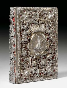 SILVER BINDING,  Augsburg (?), end of 17th century.    Sold for CHF 38 400