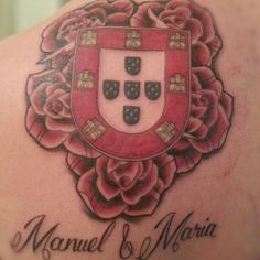 Sort of like my idea, but with hydrangeas, less though.  Also not sure what I think about the color in the crest...
