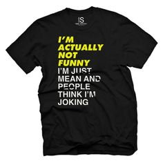 I'm Not Funny Vintage Men's T Shirt