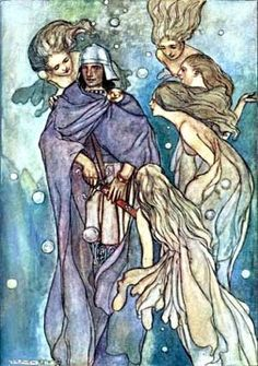 The Merrow, Irish Sea Fairies