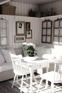 Country Nook Idea - This is so cute!