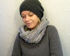 my new hat, knitted a few more of these for friends, but never had time to take pics so here is my very own one!!! plain and simple wit...