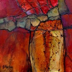 """Daily Paintworks - """"Geological Abstract Art Painting Canyon Colors by Colorado Mixed Media Abstract Artist Carol Nelso"""" - Original Fine Art for Sale - © Carol Nelson Backgrounds Wallpapers, Modern Art Movements, Contemporary Abstract Art, Contemporary Landscape, Contemporary Artists, Watercolor Artists, Abstract Photography, Oeuvre D'art, Art Gallery"""