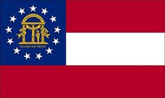 current georgia state flag - Google Search