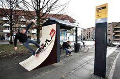 Creative bus stop advertisements | Creative Criminals #Ambient http://www.arcreactions.com/transparent-plastic-business-cards-2/#