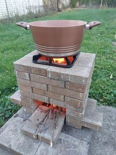 Outdoor Kitchen Grill, Outdoor Stove, Outdoor Cooking, Barrel Fire Pit, Fire Pit Grill, Oven Diy, Rocket Stoves, Grill Design, Summer Kitchen