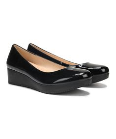 Look at this Black Sadie Leather Pump on #zulily today!