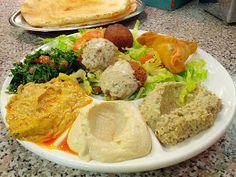 Homeveganer: Libanesisch vegan an der längsten Theke der Welt