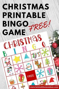 Bingo games are just classic. Kids around the country love playing them. They are fun, easy, and don't require too much energy from parents. WINNING! These Christmas printable bingo games will liven up any holiday party. #christmasprintablebingo #freeprintable #christmasgames