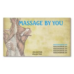 Massage Therapy paper formats