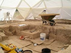 Would you guess that I'm fascinated with history and archeology? I'd love to go on an archeological dig.