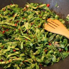 The Food Blog...swiss chard and kale