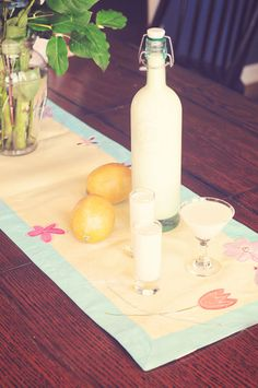 Homemade Creamy Limoncello would make a great gift for the cocktail lover in your life!