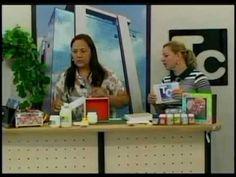 ▶ Tania Islas Aula de artesanato dia 26.01.2012 parte 1 - YouTube