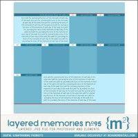 Layered Memories No. 95