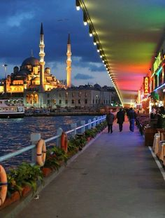 34 Excellent Ideas For Your Next Holiday Under the Galata Bridge, Istanbul, Turkey . Beautiful Places To Visit, Wonderful Places, Beautiful World, Places To See, Places Around The World, Travel Around The World, Around The Worlds, Night Walkers, Next Holiday