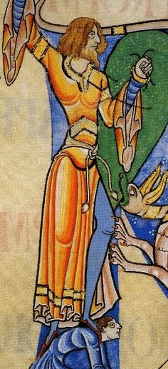 Living the History: Century Fashion Victims. Medieval Warm Period, Medieval Art, Medieval Manuscript, Illuminated Manuscript, Medieval Clothing, Medieval Fashion, Romanesque Art, Carolingian, Illumination Art