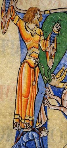 Living the History: Century Fashion Victims. Medieval Warm Period, Medieval Art, Medieval Fashion, Medieval Clothing, Historical Art, Historical Costume, Medieval Manuscript, Illuminated Manuscript, Romanesque Art