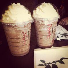 My Birthday in the Starbucks :)