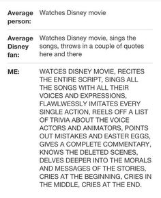 This is how Disney lovers watch Disney movies