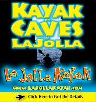 La Jolla Kayak the Caves in San Diego, CA