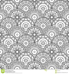 abstract doodle Coloring pages colouring adult detailed advanced printable Kleuren voor volwassenen