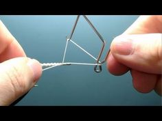 How To Use Whip Finish Fly Tying Tool - Whip Finisher Instructions and Directions - YouTube