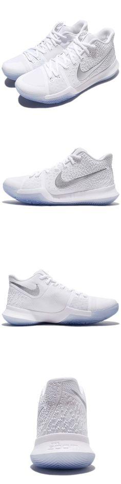08337d401cc Men 158971  Nike Kyrie 3 Ep Iii Irving Chrome White Men Basketball Shoes  Sneakers 852396