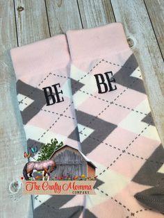 Groom Socks - Blush Pink Argyle - Mens Monogram Socks - groomsmens gift - groomsman gift - wedding party gift - second anniversary - pastel Groom Socks, Groomsmen Socks, Gifts For Wedding Party, Wedding Day, Pink Grey, Blush Pink, Mens Monogram, Second Anniversary, Pink Socks