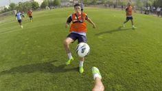 Fussball mal aus einer ganz anderen Perspektive mit Manchester City - GoPro Style!