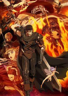 Vídeo de demostración, mas reparto, y opening del nuevo Anime de berserk.