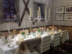 Chalet style Christmas