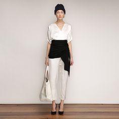 """""""Relaxed Elegance — Shop the latest from Zero + Maria Cornejo. @zeromcornejo @totokaelo #totokaelo"""""""
