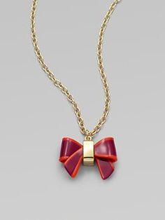 hokie bow necklace.