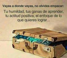 No olvides empacar lo mas importante.. ;)