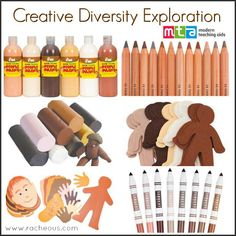 Exploring Skin Colour Diversity for Kids - Racheous - Lovable Learning Use a variety of materials (e., crayons, paint, clay, markers) to create original work. Imitate different cultures through art. Diversity In The Classroom, Multicultural Classroom, Multicultural Activities, Inclusion Classroom, Creative Activities For Kids, Preschool Activities, Naidoc Week Activities, Diversity Activities, Harmony Day